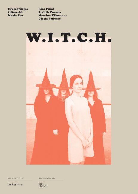 W.I.T.C.H.-Cartell-Les-Fugitives-Portada